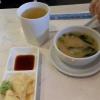 Tee und Miso-Suppe