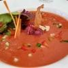 Gazpacho mit Thunfisch-Tatar