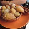 Papas arrugadas (kanarische Runzelkartoffeln)