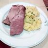 Kaiserfleisch mit tollem hausgemachtem Kartoffelsalat
