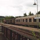 Foto zu Buschle's Bahnhof: V100 mit Silberlingen
