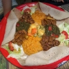 Die Afrikia-Platte für Zwei