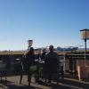Blick zum Flugplatz