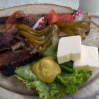 Foto zu Gasthof Zum Preußla: Kaltes Schäuferla mit Brot (nicht immer vorhanden)