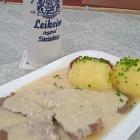 Foto zu Gasthof Zum Preußla: Krenfleisch mit Klößen (an So.u.Feiertag,nicht immer auf der Karte)