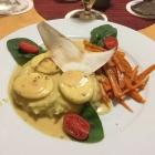 Foto zu Restaurant Ratskeller: Eier in Senfsauce