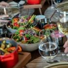Foto zu Restaurant de Saxe im Steigenberger Hotel de Saxe: Essen mit Freunden