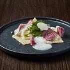 Foto zu Restaurant de Saxe im Steigenberger Hotel de Saxe: Gefüllte Ravioli