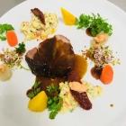 Foto zu Restaurant Gustaf im Wellnesshotel Haus am See: Kamm vom Iberico-Schwein