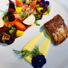 Foto zu Restaurant Gustaf im Wellnesshotel Haus am See: Hecht aus dem Arendsee