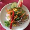 Salatteller zu den Hauptspeisen