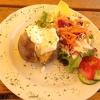Große Ofenkartoffel