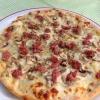 Pizza Bianca con Salsiccia