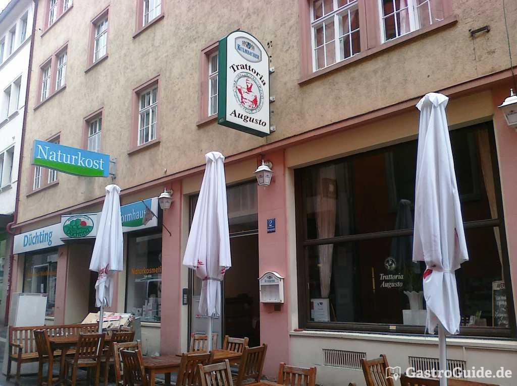 trattoria augusto restaurant pizzeria in 97070 w rzburg. Black Bedroom Furniture Sets. Home Design Ideas