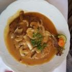 Foto zu Hotel Weinhaus Wiedemann: Jägerschnitzel mit Bratkartoffeln