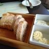 Brot und Aufstrich vorweg