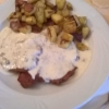 Gorgonzola-Schnitzel
