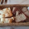 Frisches, gewärmtes Brot