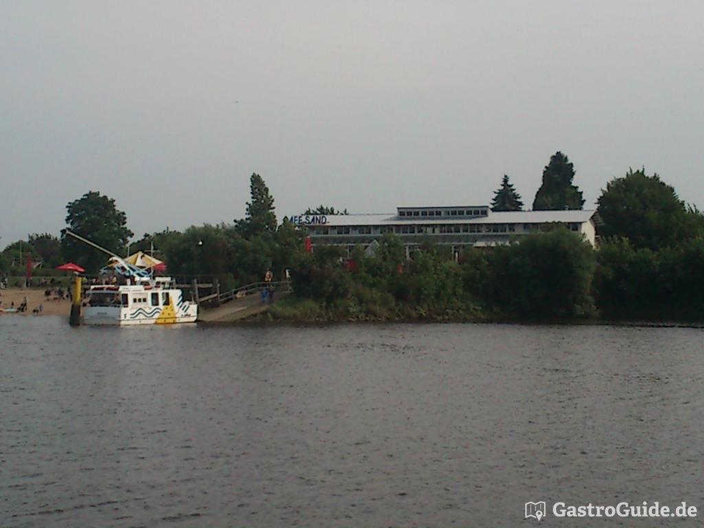 Ausflugslokal Mit Strand An Der Weser Gastroguide