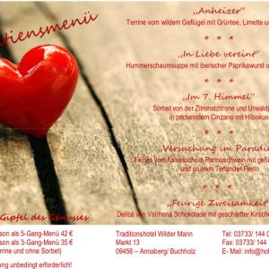 Valentinstag Tuesday, 14. Feb 2017. Markt 13 09456 Annaberg Buchholz