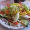 gemischter Salat für vier Euro