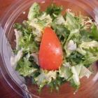 Foto zu Gaststätte Zur Linde Bischmisheim: Salat zum Rumpsteak