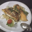 Foto zu Pizzeria Da Vito: Dorade und Lachs auf Knoblauchspaghetti
