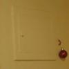 etwas eigenwillige Weihnachtsdeko an der Wand ;-)
