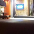 Foto zu McDonald's: Innenbereich, von der Kasse gesehen rechts!