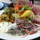 Foto zu Hotel Gastmahl des Meeres: Heringsplatte