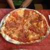 Pizza Lucana (7,60€) mit scharfer Salami