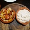 Bohnensalat und Thunfischcreme
