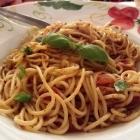 Foto zu Pizzeria Da Angelo: Spaghetti Aglio / Olio