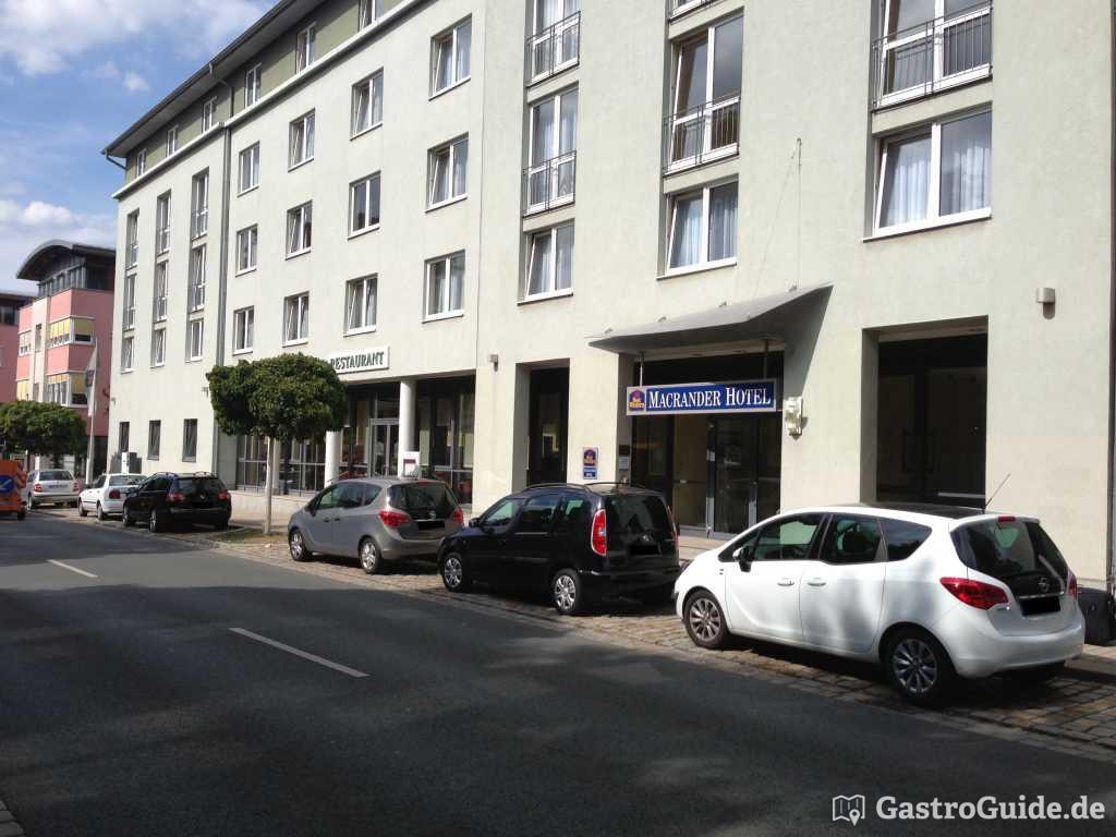 Orangerie Im Best Western Macrander Hotel Dresden Restaurant In