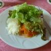 Salat gab's auch dazu