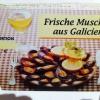 Muscheln - Werbung