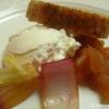 Ziegenfrischkäse mit Chutney und Höri-Bülle