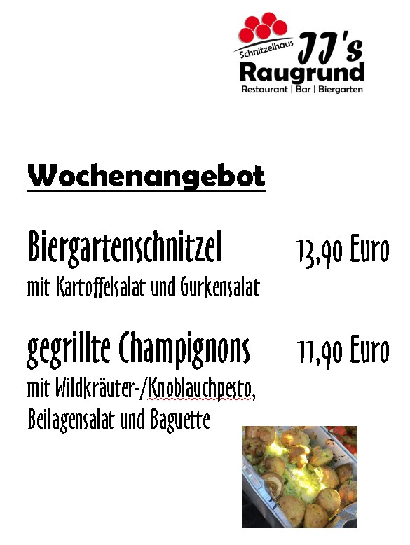 Bild zur Nachricht von JJs Raugrund – Restaurant | Bar | Biergarten