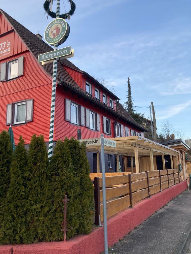 Biergarten im Raugrund