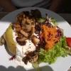 Ofenkartoffel mit Hähnchenbrust