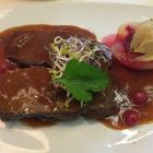 Foto zu Restaurant Deele im Hotel ten Hoopen: Wildschweinbraten