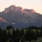 Foto zu Landhotel Schwarzenbach: Blick von der Terrasse auf Neuschwanstein