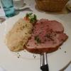 Schäufele mit Sauerkraut
