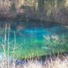 magisch wirkender See
