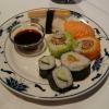 sushi mit Thunfisch aus der Dose