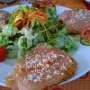 Kartoffelrösti mit gebeiztem Lachs