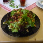 Foto zu Historisches Hotel Restaurant Stampfermühle: Blattsalat mit Speckwürfel