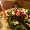 Blumen auf dem Tisch