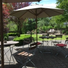 Foto zu Landgasthof Reinert: 21.5.17 / auf der sehr schönen Terrasse