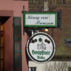 Foto zu König von Preussen: Logo auf Bier
